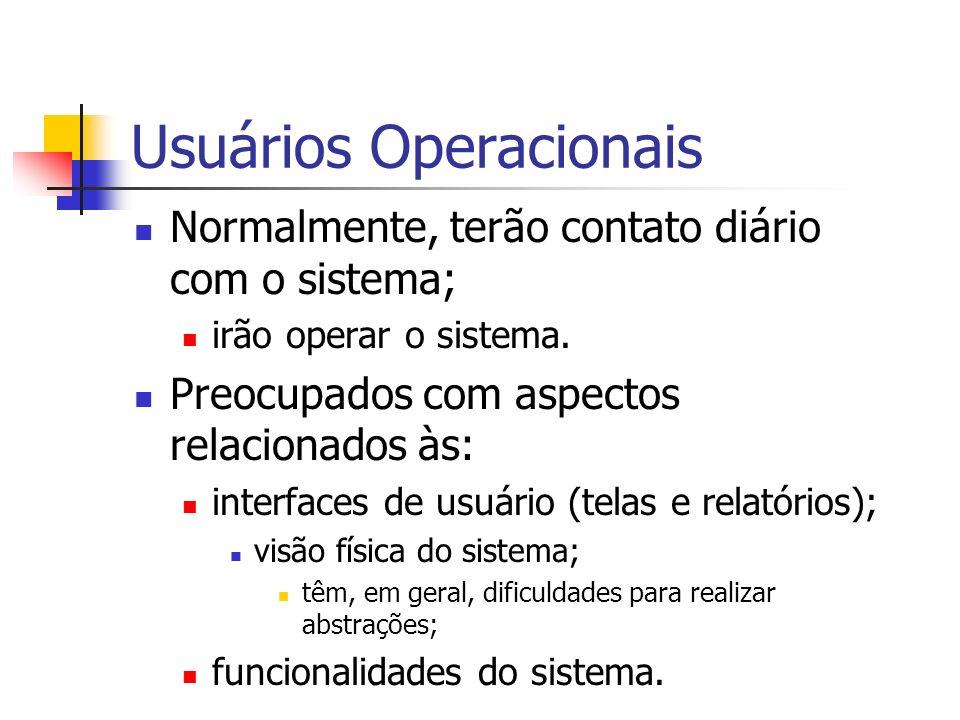 Usuários Operacionais
