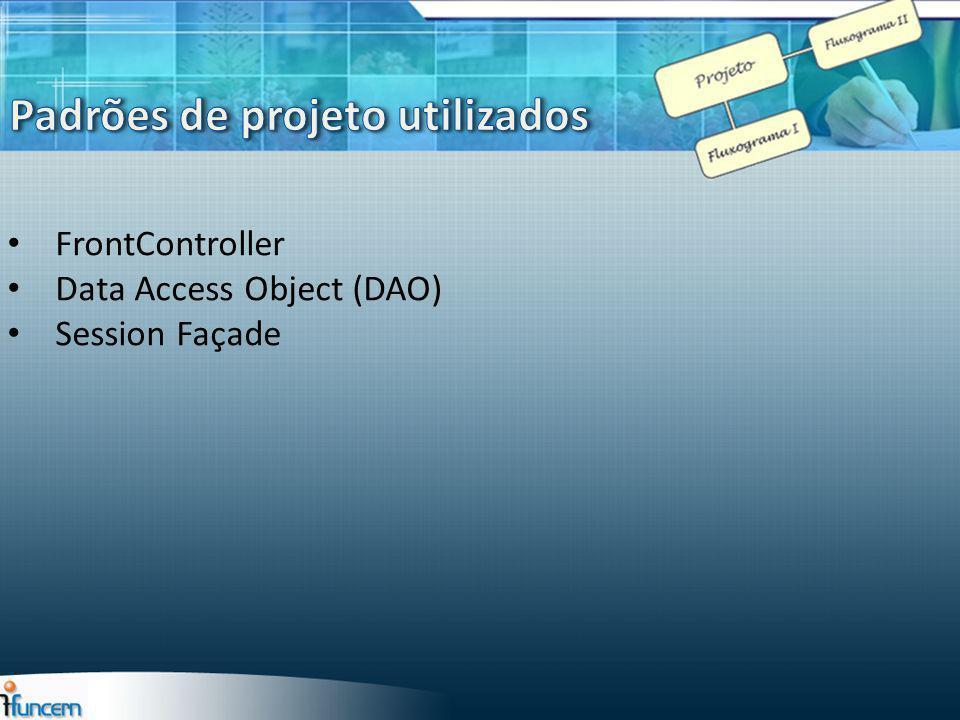 Padrões de projeto utilizados