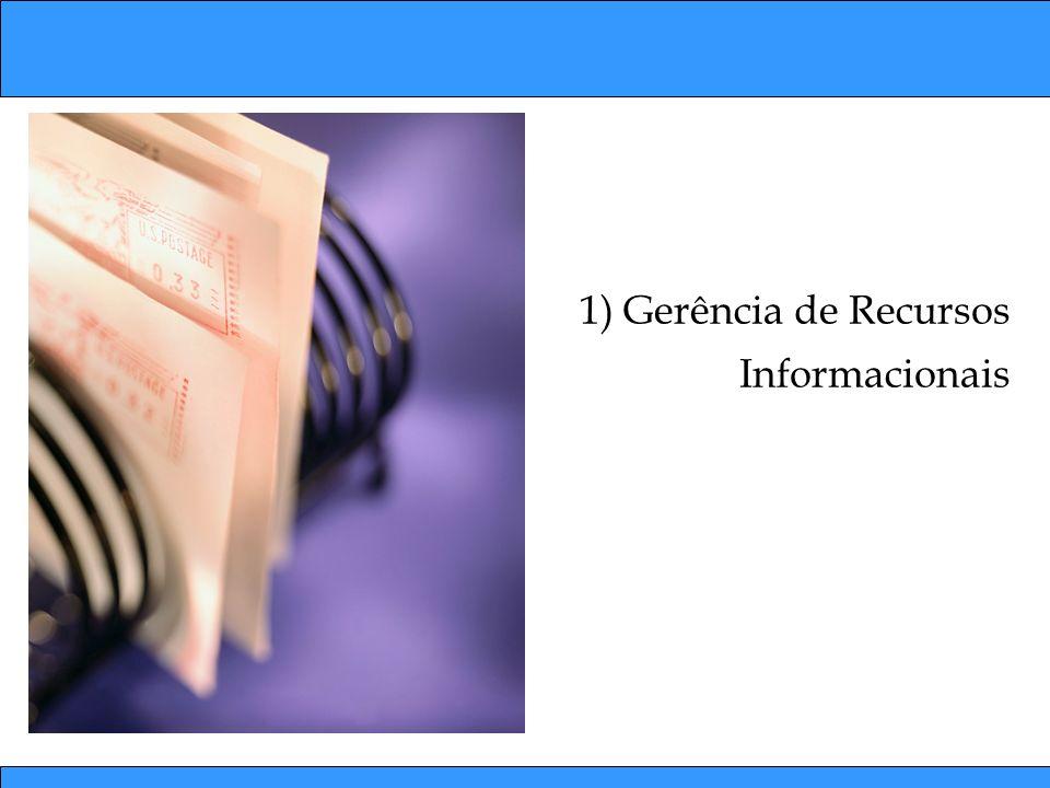 1) Gerência de Recursos Informacionais