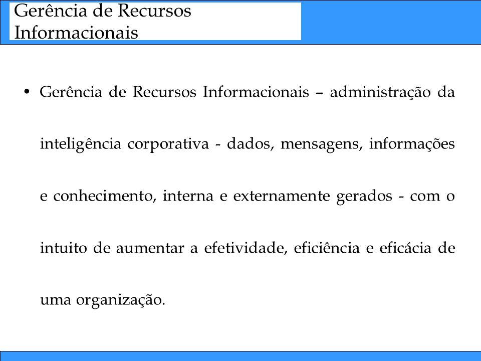 Gerência de Recursos Informacionais