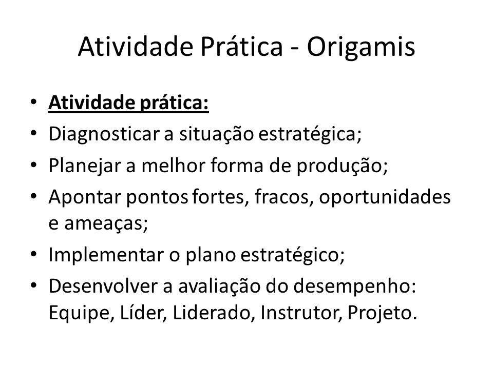 Atividade Prática - Origamis
