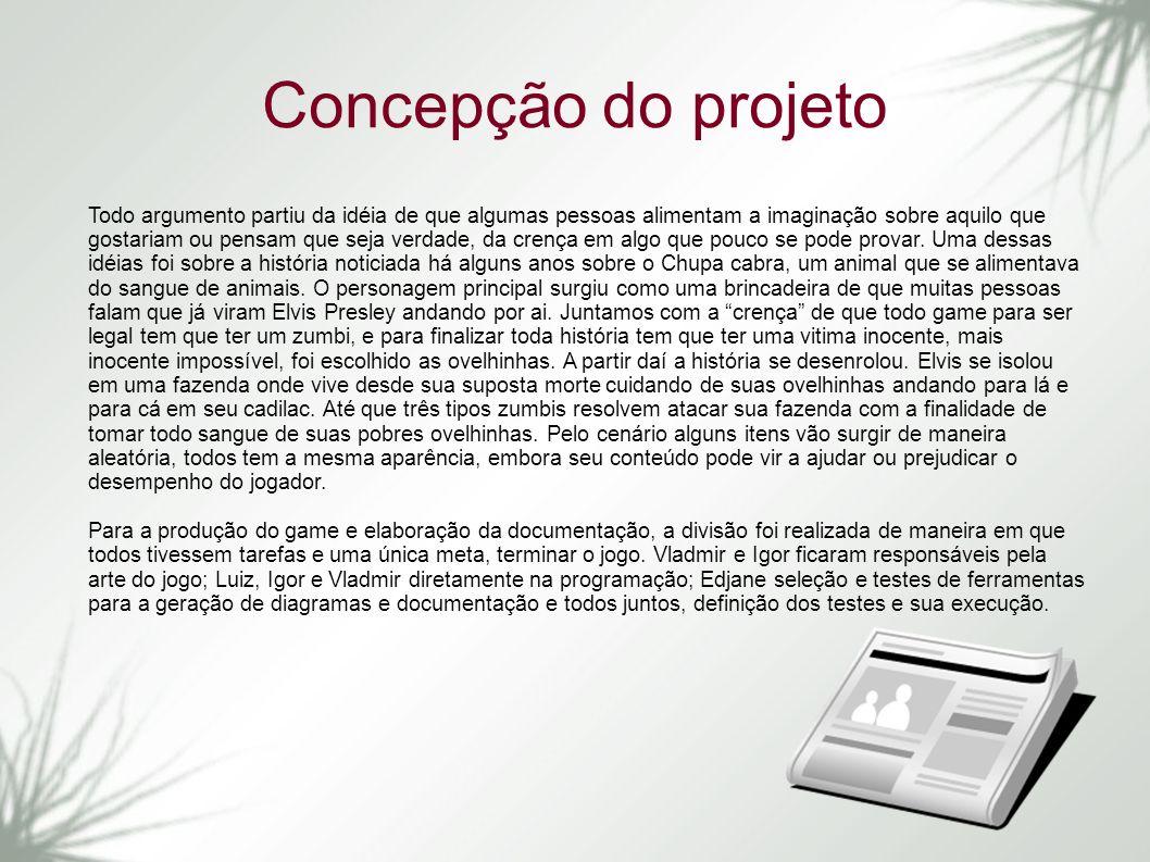 Concepção do projeto