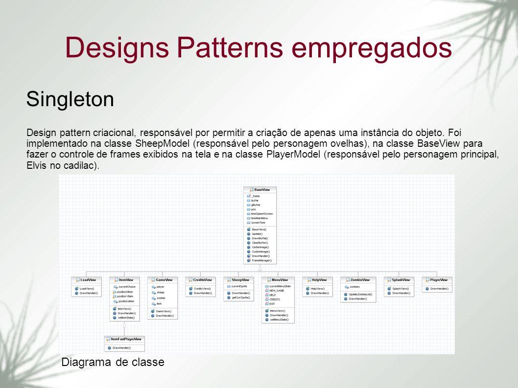 Designs Patterns empregados