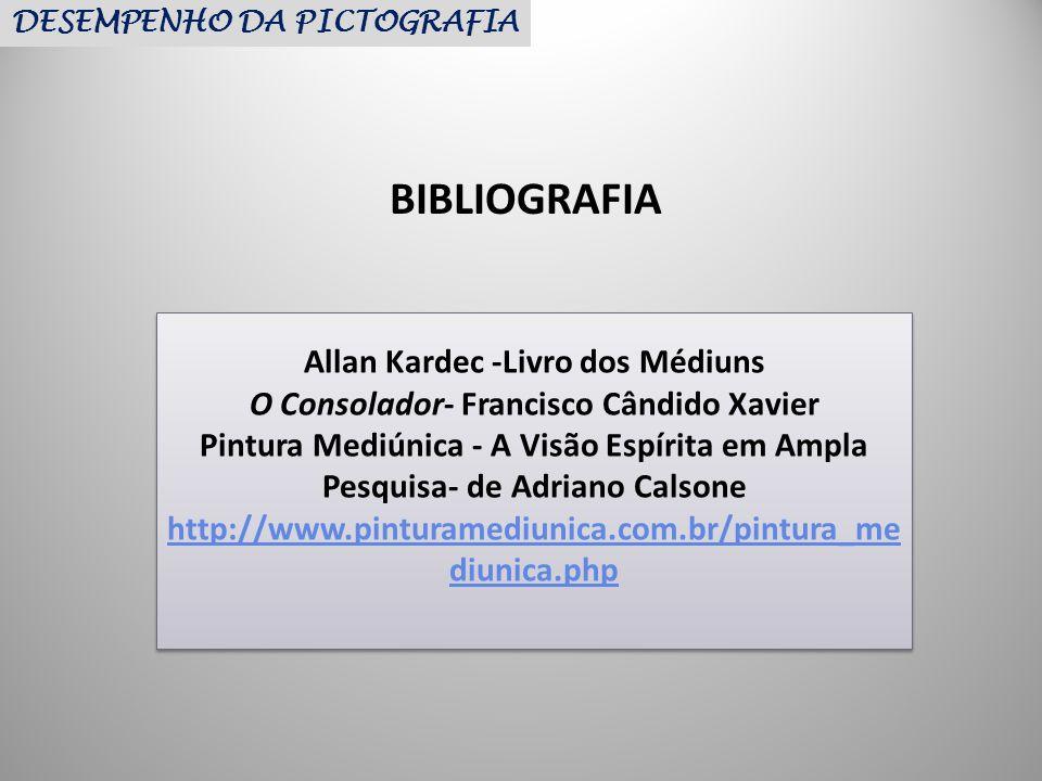 Allan Kardec -Livro dos Médiuns O Consolador- Francisco Cândido Xavier