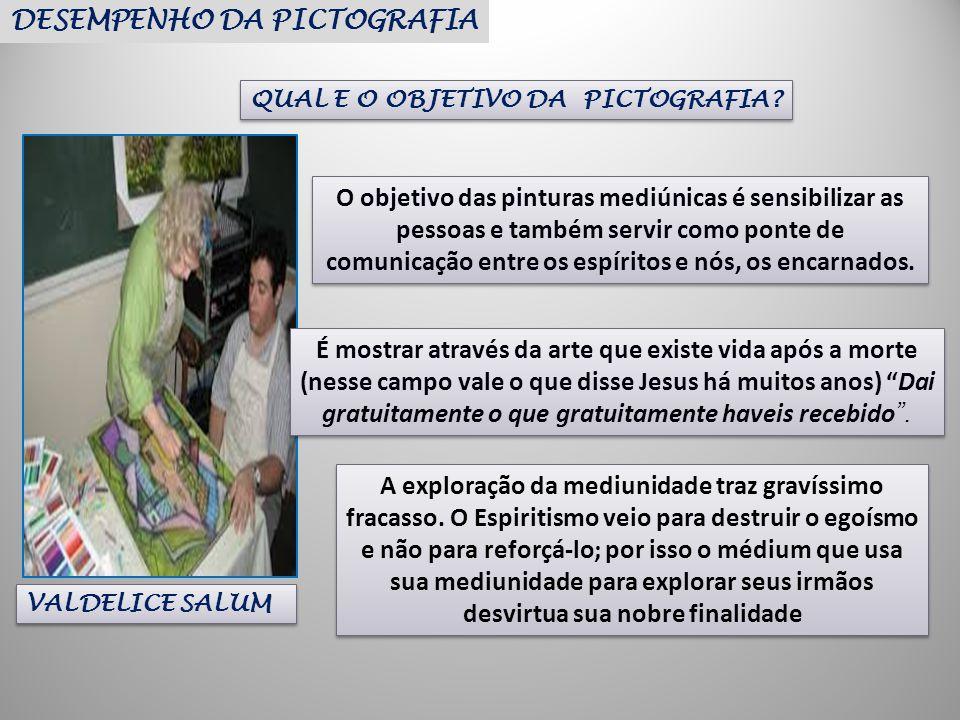 DESEMPENHO DA PICTOGRAFIA