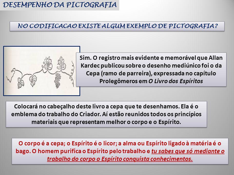 NO CODIFICACAO EXISTE ALGUM EXEMPLO DE PICTOGRAFIA