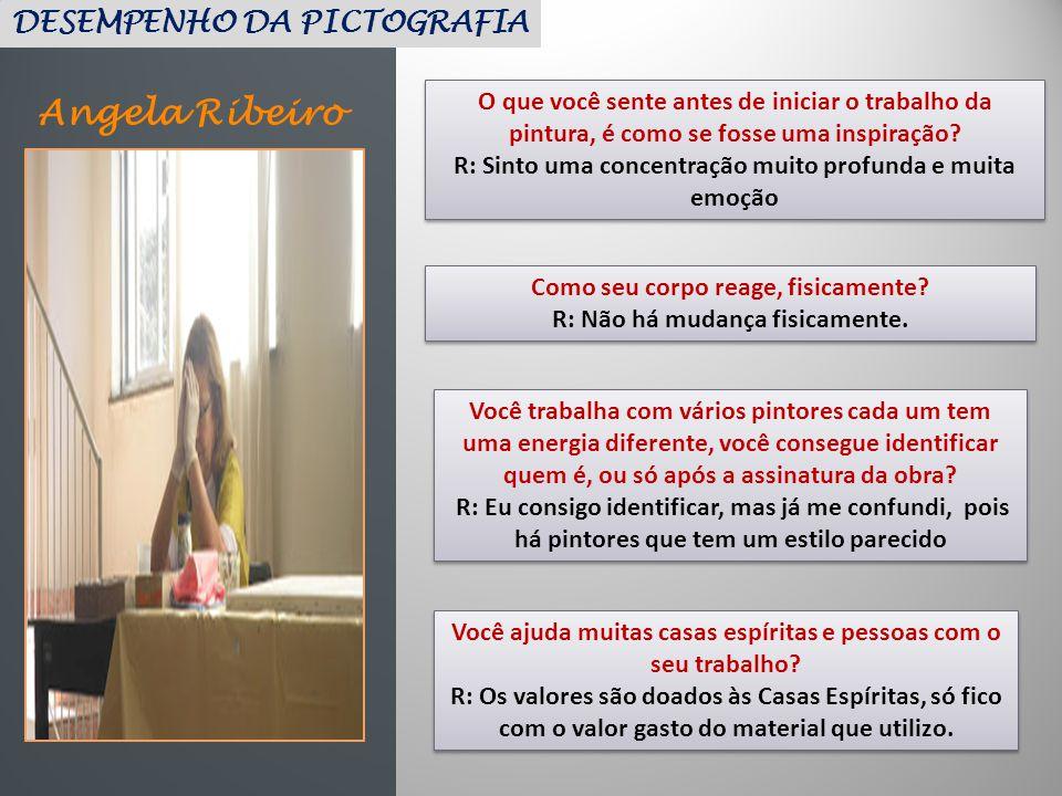 Angela Ribeiro DESEMPENHO DA PICTOGRAFIA