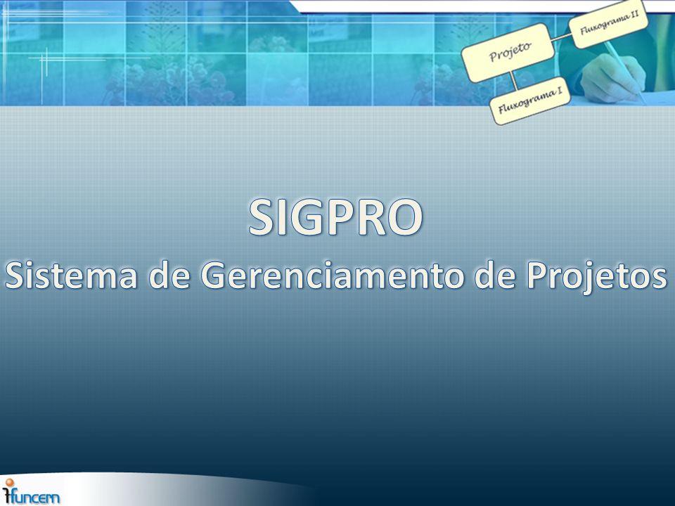 SIGPRO Sistema de Gerenciamento de Projetos