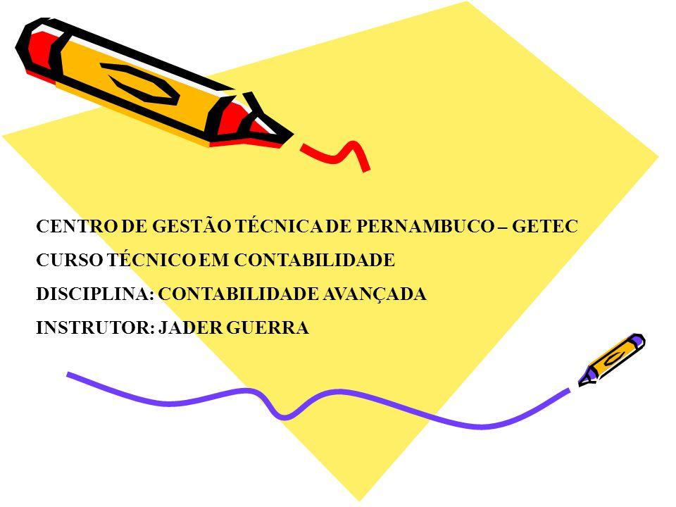 CENTRO DE GESTÃO TÉCNICA DE PERNAMBUCO – GETEC