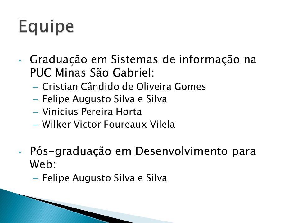 Equipe Graduação em Sistemas de informação na PUC Minas São Gabriel: