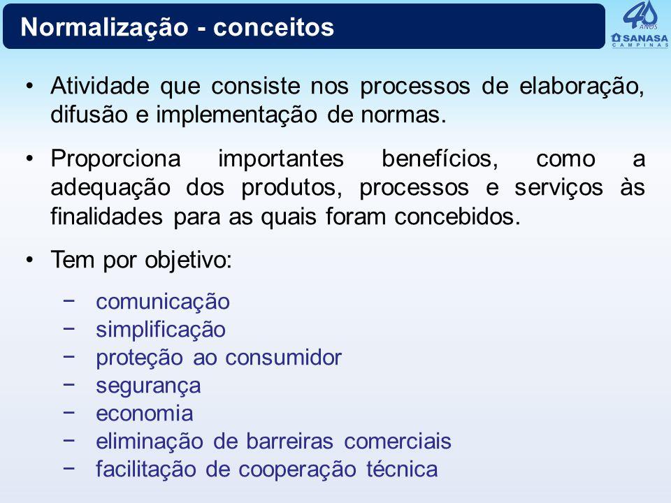 Normalização - conceitos
