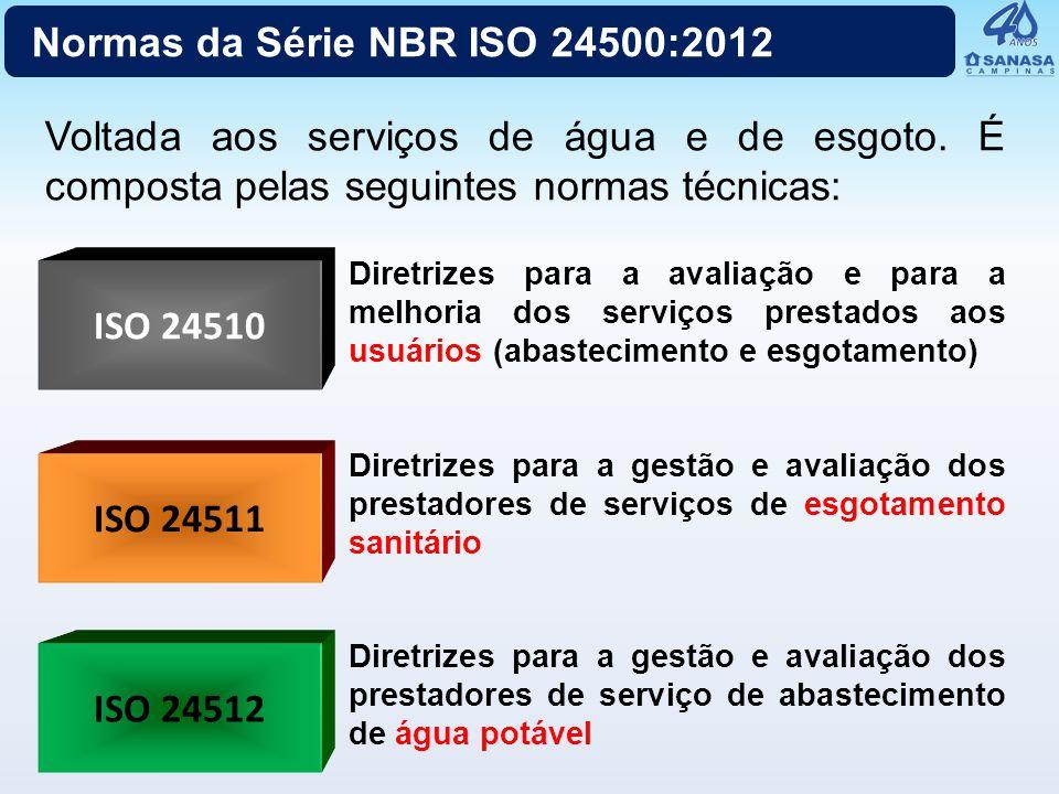 Normas da Série NBR ISO 24500:2012