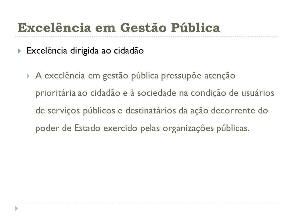 Excelência em Gestão Pública