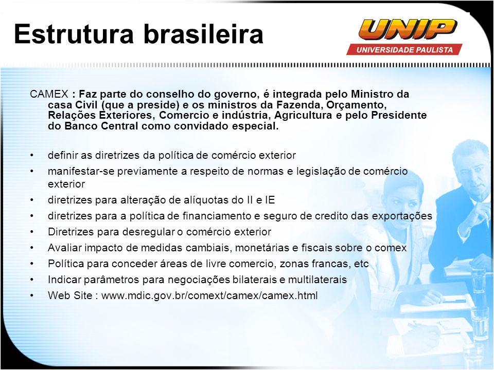 Estrutura brasileira