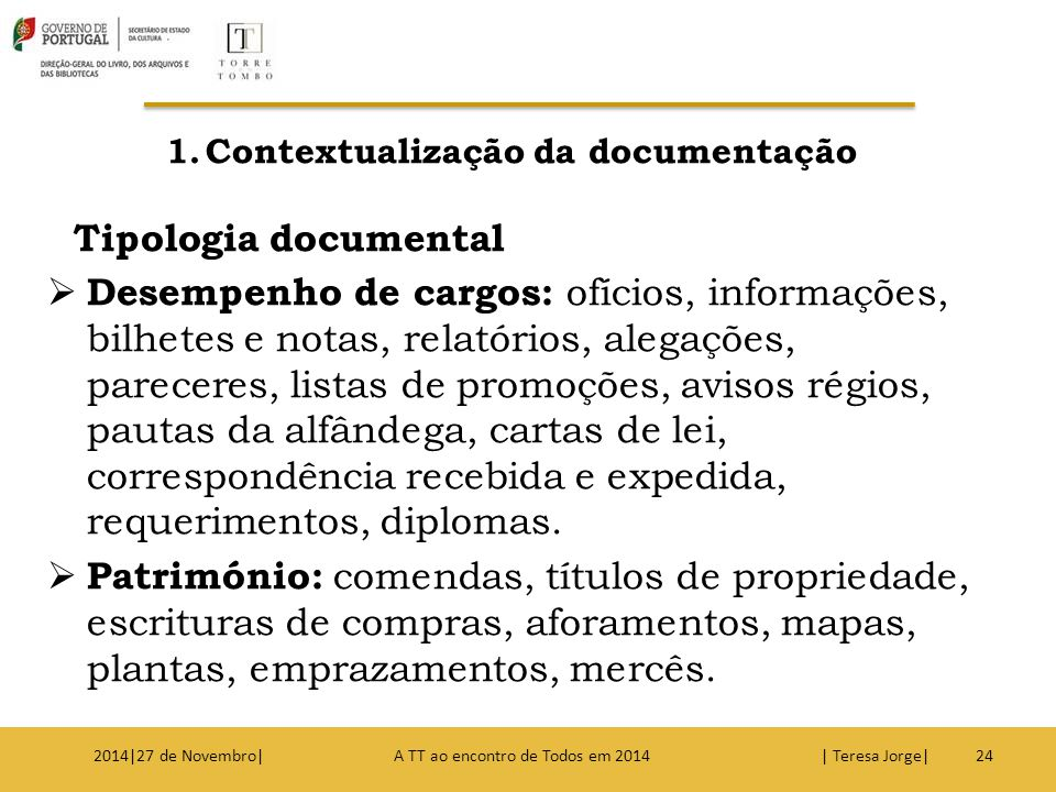 Contextualização da documentação