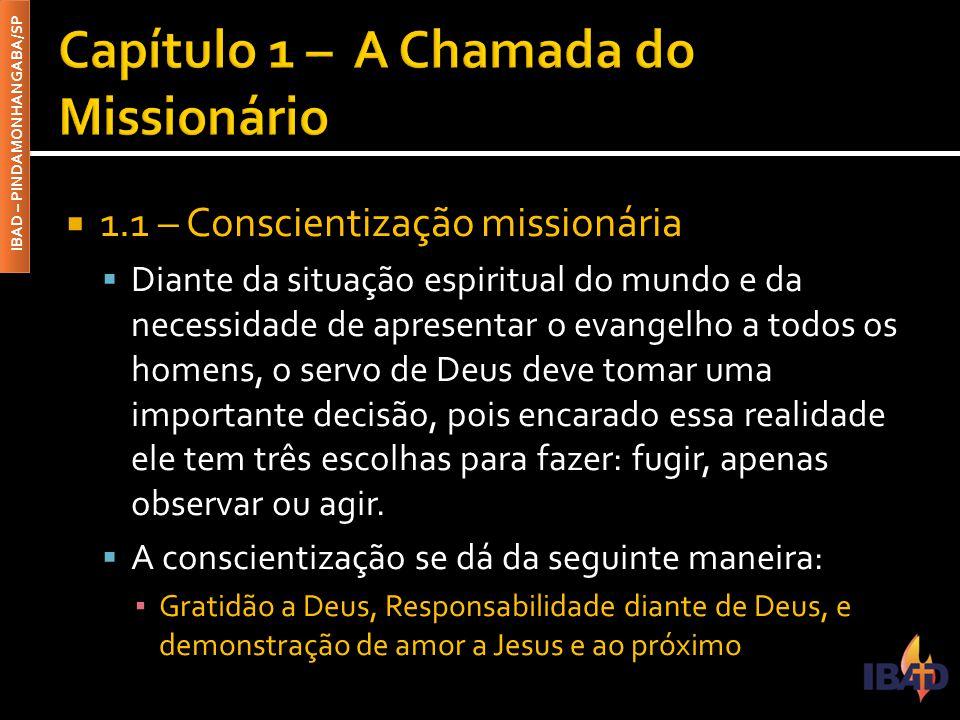 Capítulo 1 – A Chamada do Missionário