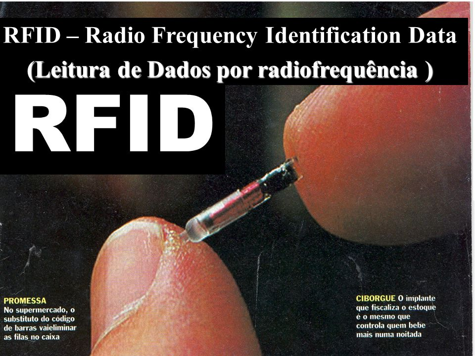 RFID RFID – Radio Frequency Identification Data