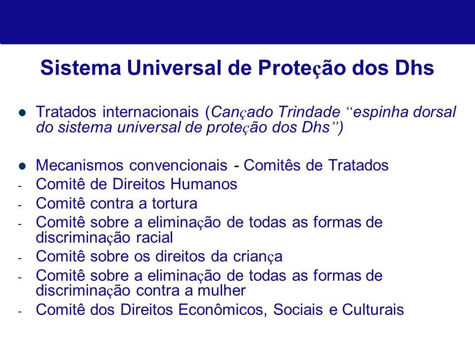 Sistema Universal de Proteção dos Dhs