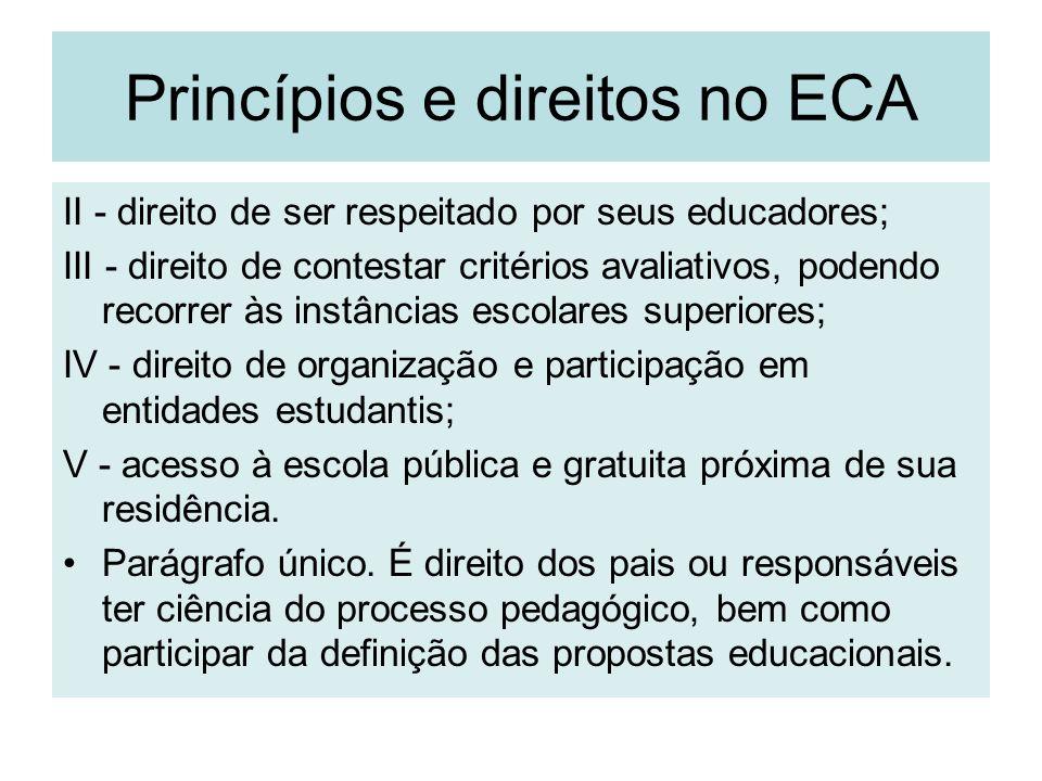 Princípios e direitos no ECA