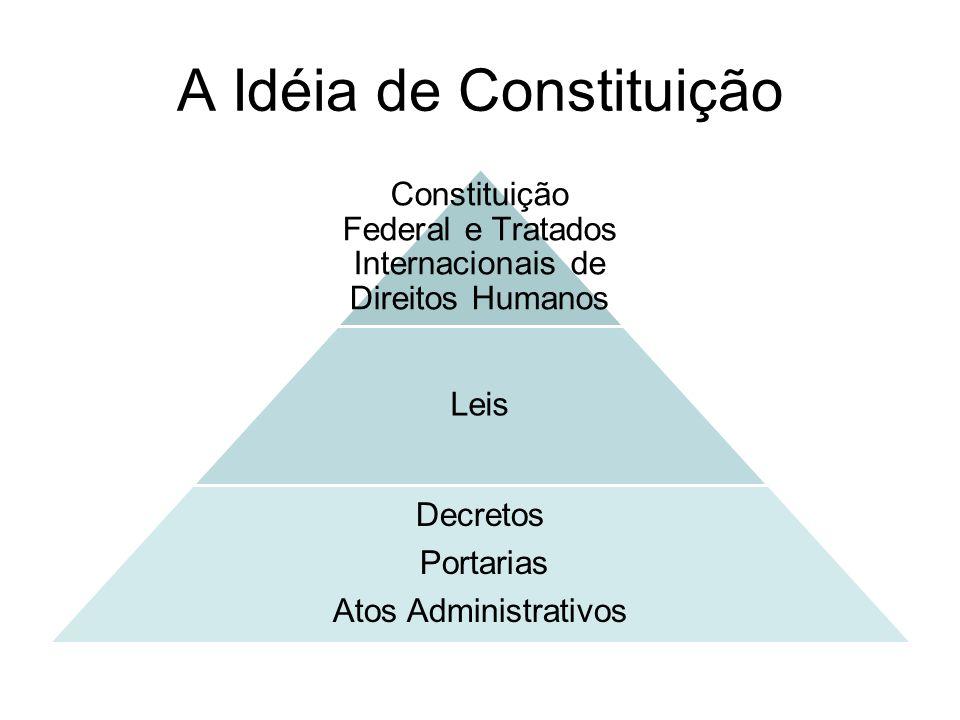 A Idéia de Constituição