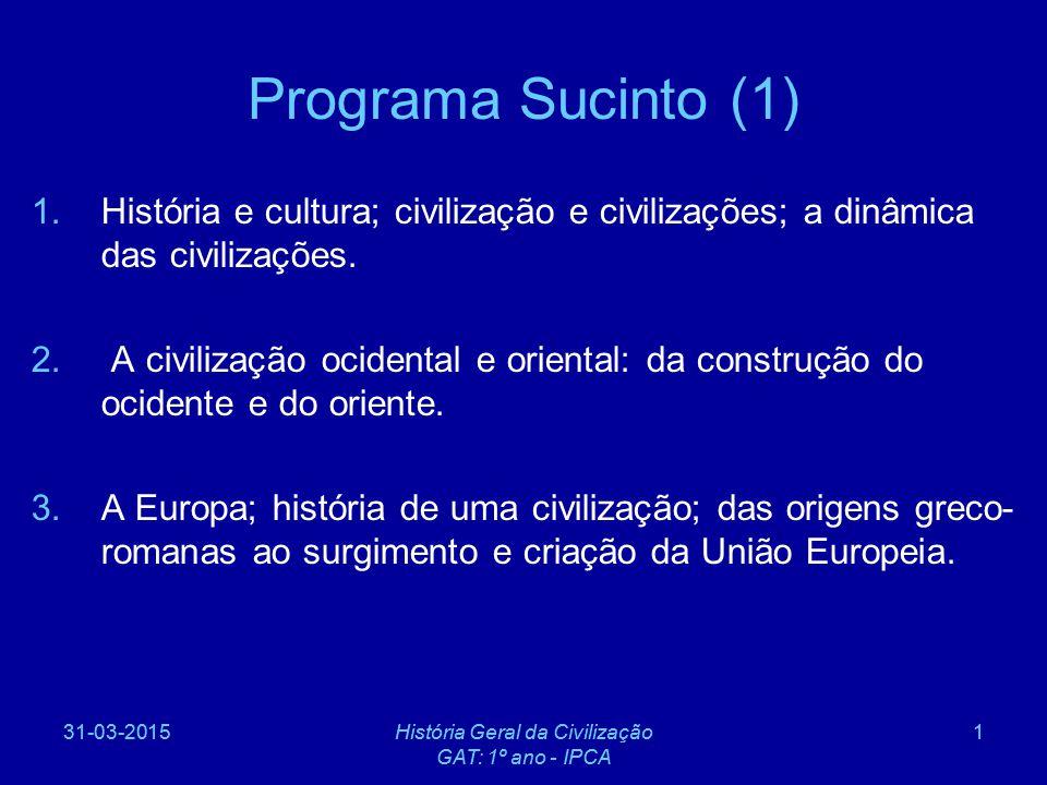 História Geral das Civilizações