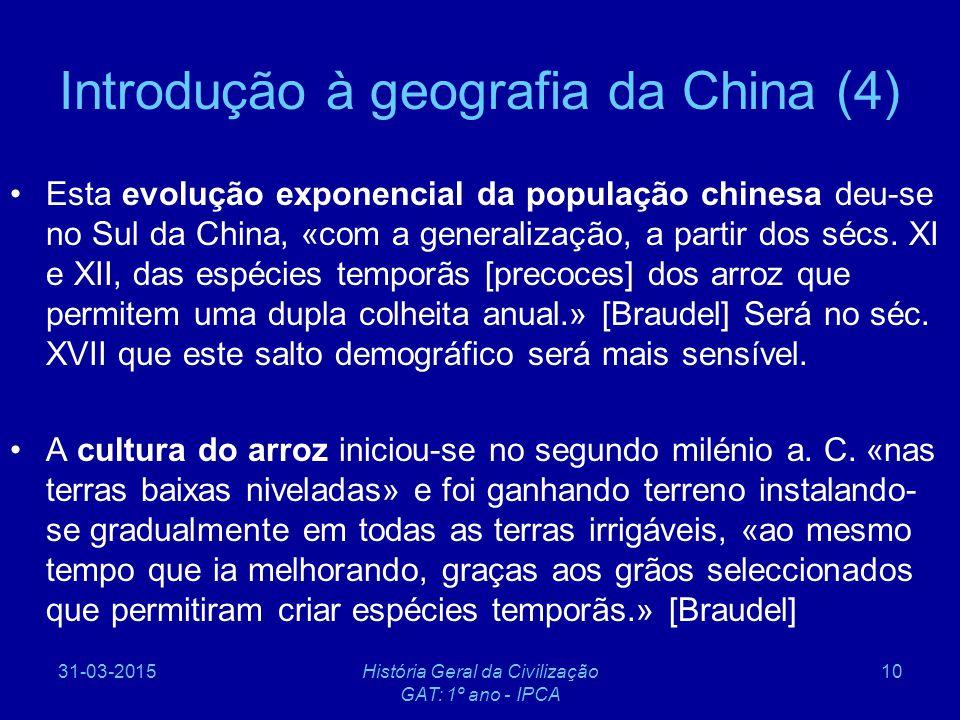 Introdução à geografia da China (4)