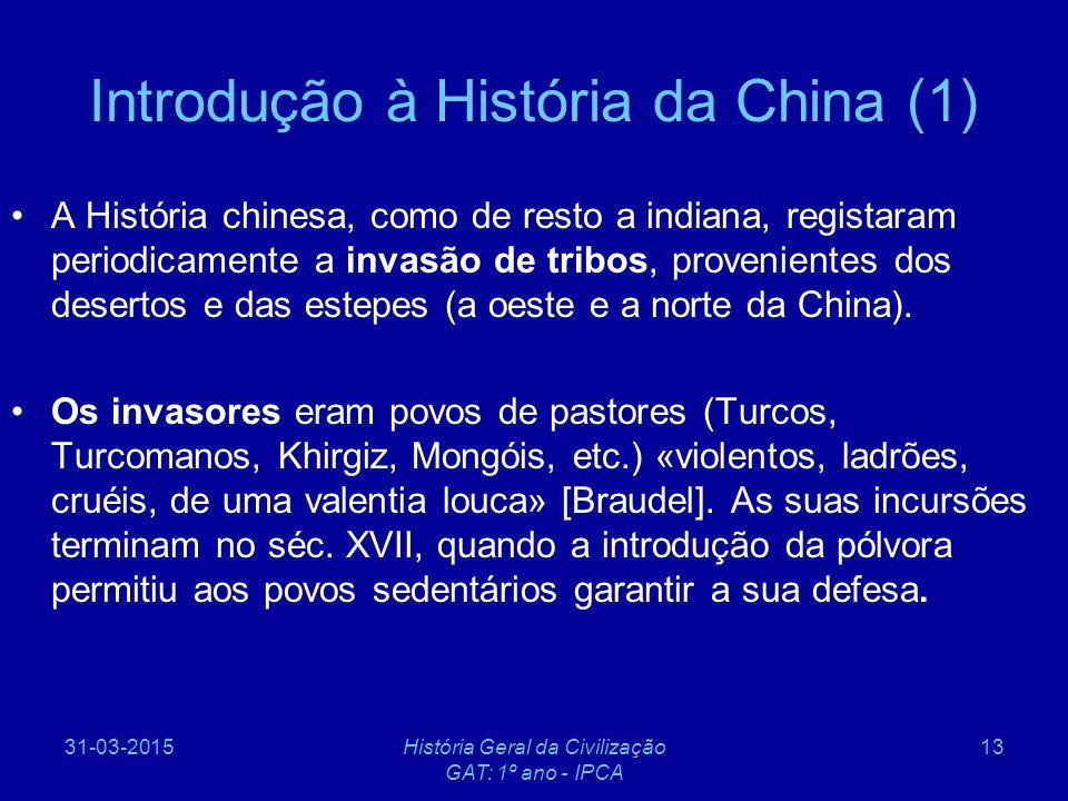 Introdução à História da China (1)