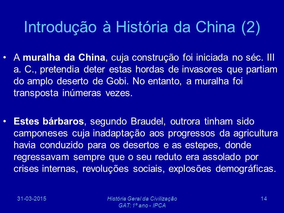 Introdução à História da China (2)