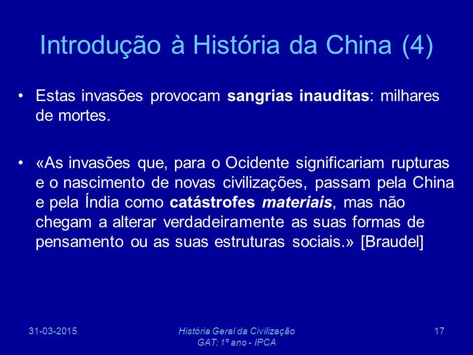 Introdução à História da China (4)