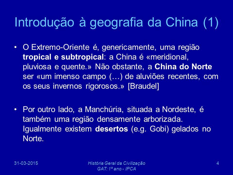 Introdução à geografia da China (1)