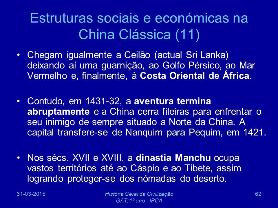 Estruturas sociais e económicas na China Clássica (11)