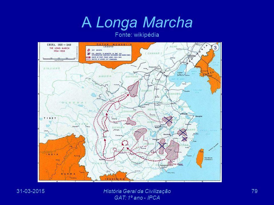 A Longa Marcha Fonte: wikipédia