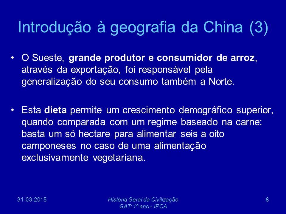 Introdução à geografia da China (3)