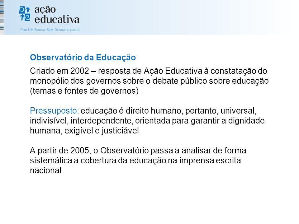 Observatório da Educação