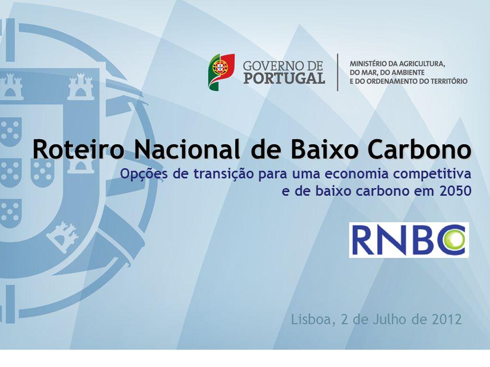 eabilitação Roteiro Nacional de Baixo Carbono