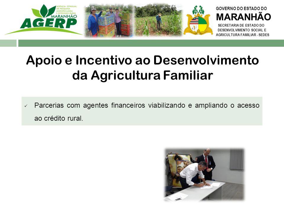 Apoio e Incentivo ao Desenvolvimento da Agricultura Familiar
