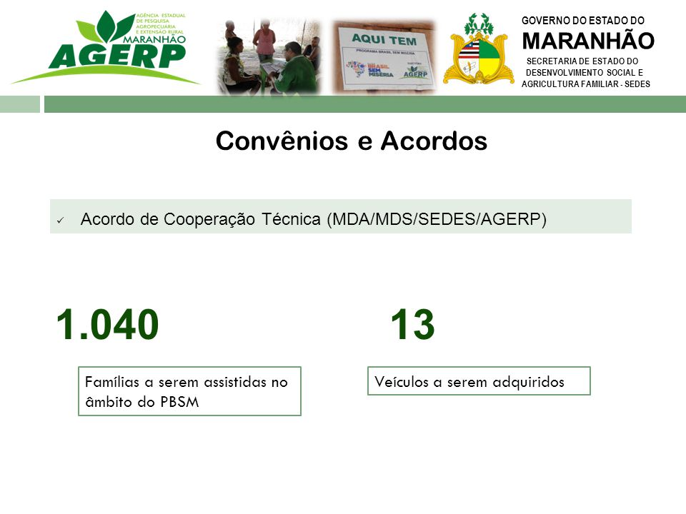 1.040 13 Convênios e Acordos MARANHÃO