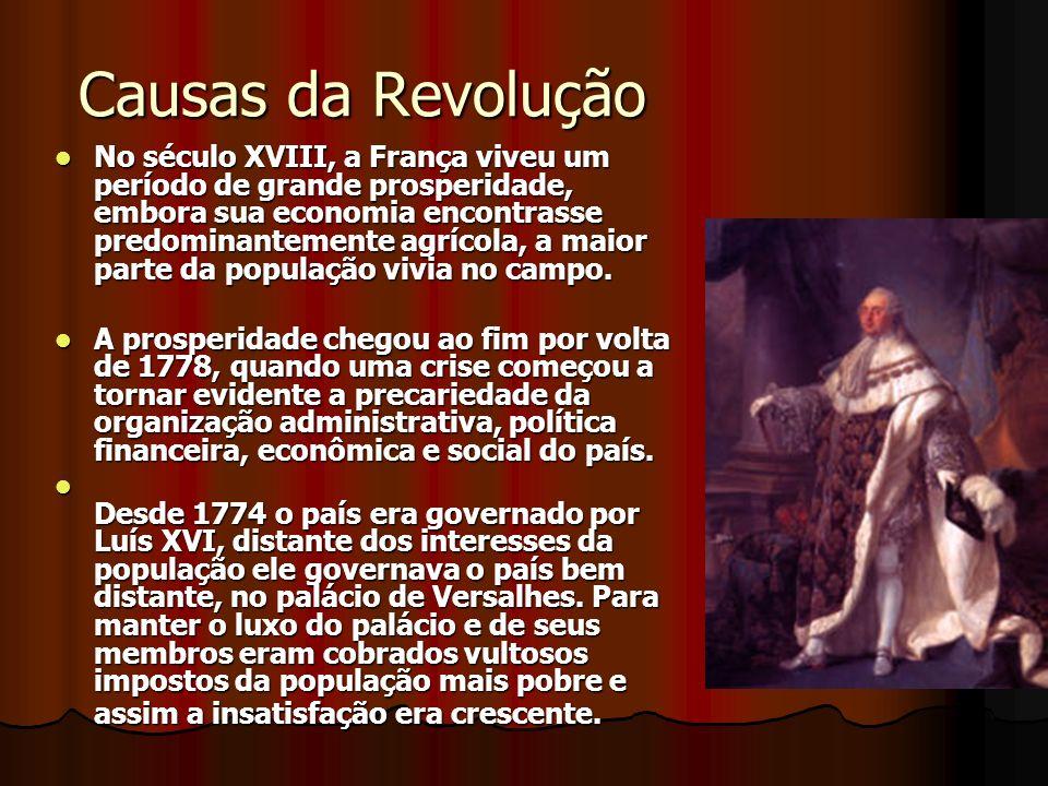 Causas da Revolução