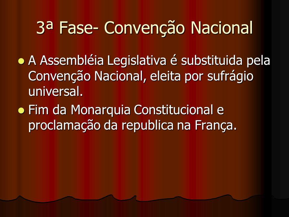 3ª Fase- Convenção Nacional