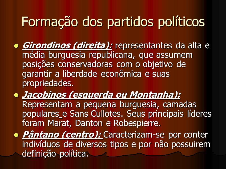 Formação dos partidos políticos