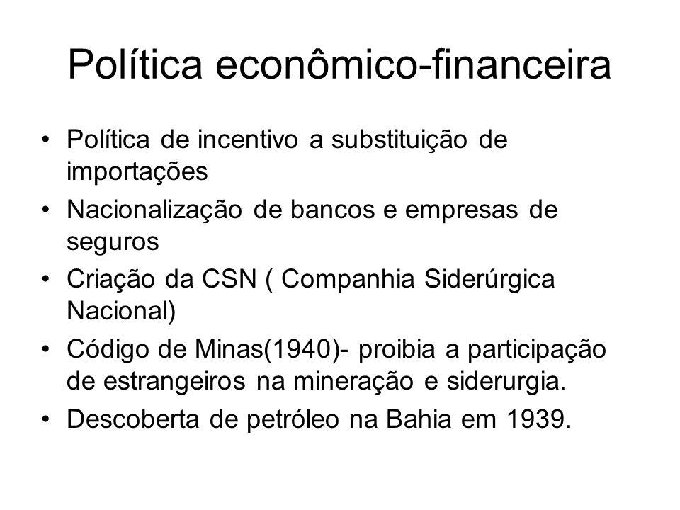 Política econômico-financeira