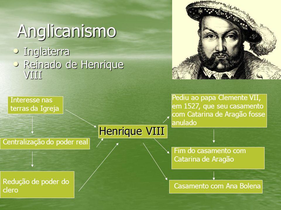 Anglicanismo Inglaterra Reinado de Henrique VIII Henrique VIII