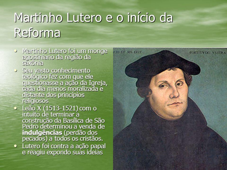 Martinho Lutero e o início da Reforma