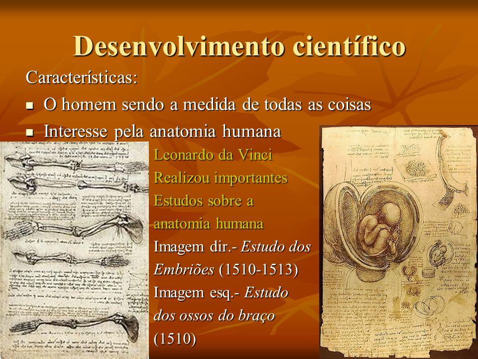 Desenvolvimento científico