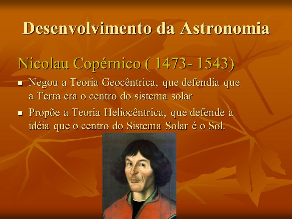 Desenvolvimento da Astronomia