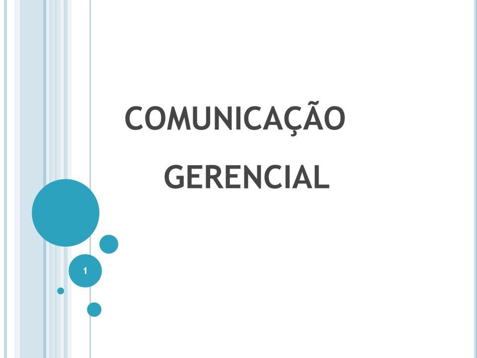 COMUNICAÇÃO GERENCIAL