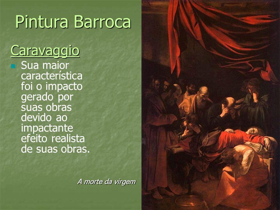 Pintura Barroca Caravaggio