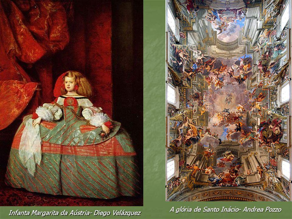A glória de Santo Inácio- Andrea Pozzo
