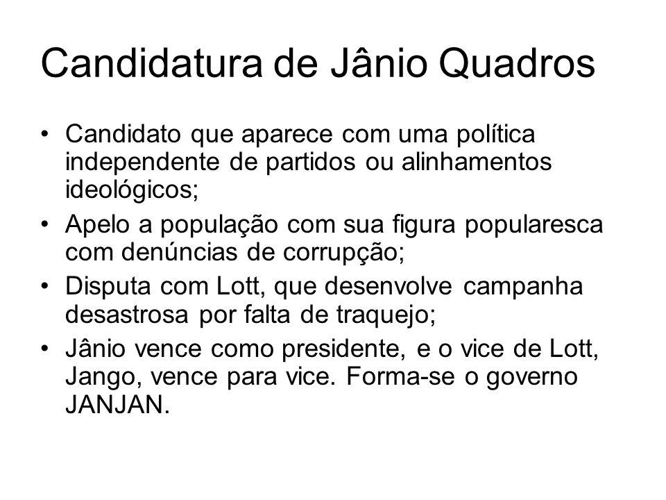 Candidatura de Jânio Quadros
