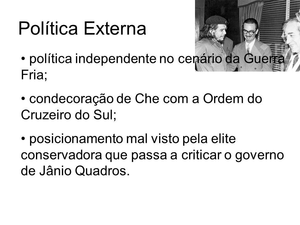 Política Externa política independente no cenário da Guerra Fria;
